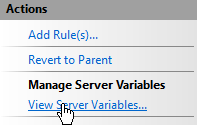 manageservervariables