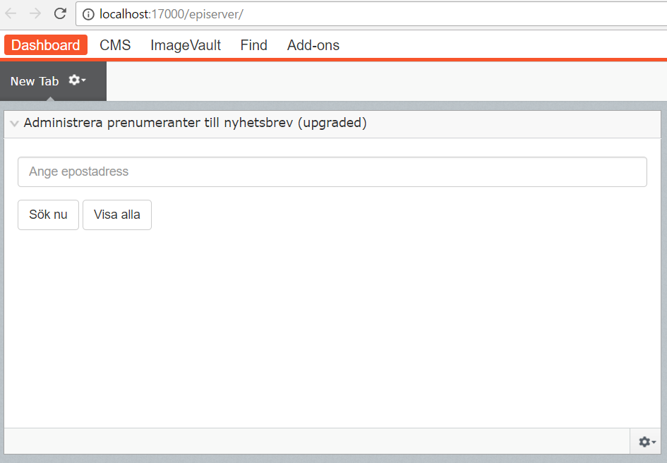 Convert Deprecated Gadgets to Components in #Episerver