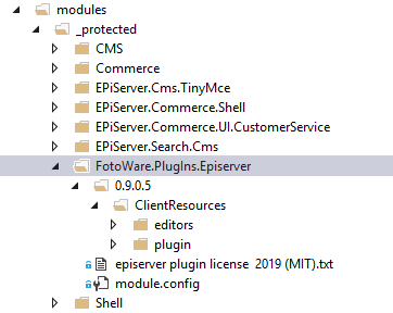 How to pack a nuget addon for #Episerver, Example FotoWare